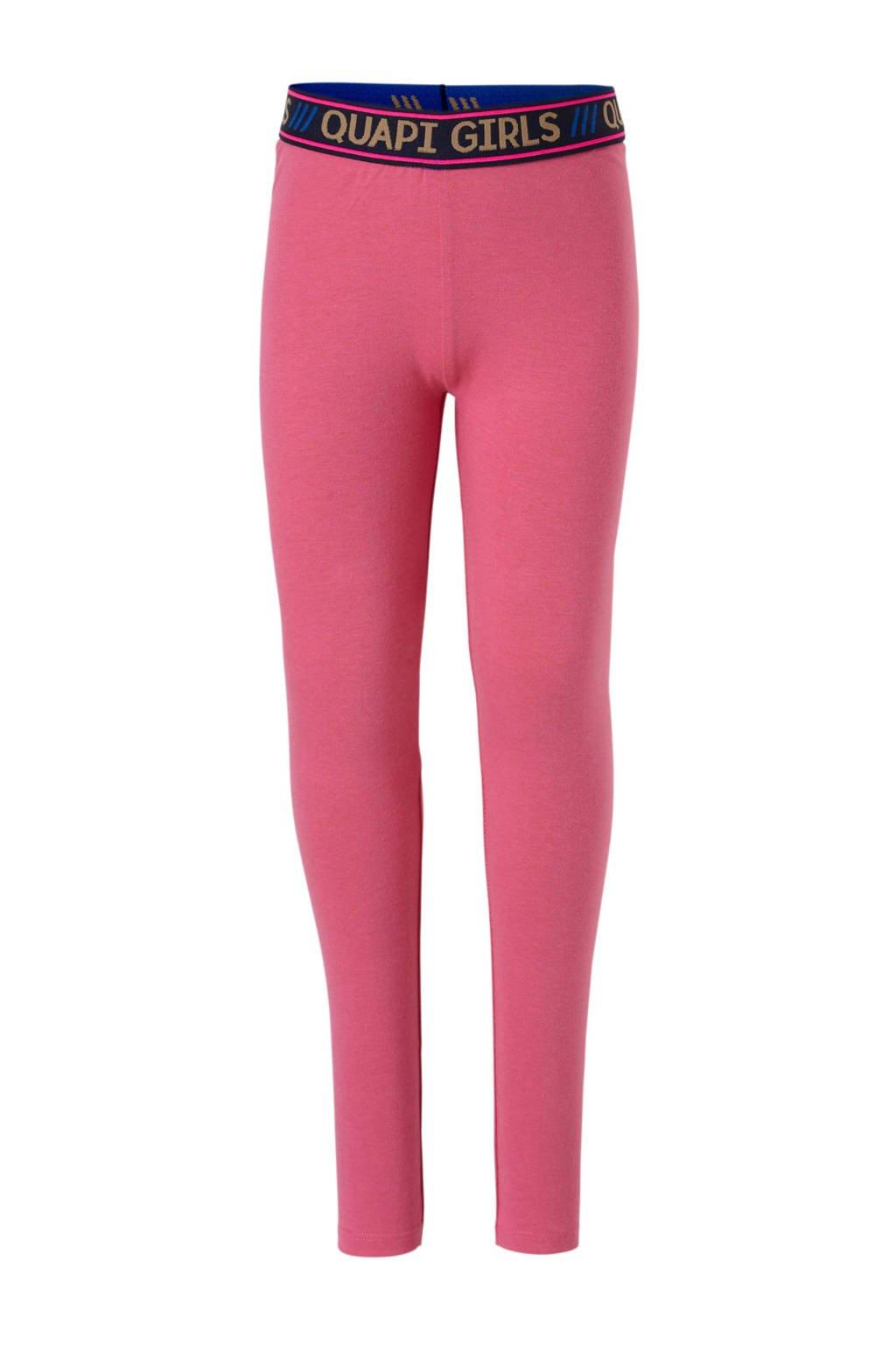 Quapi legging Lavinia 3 roze, Roze/donkerblauw