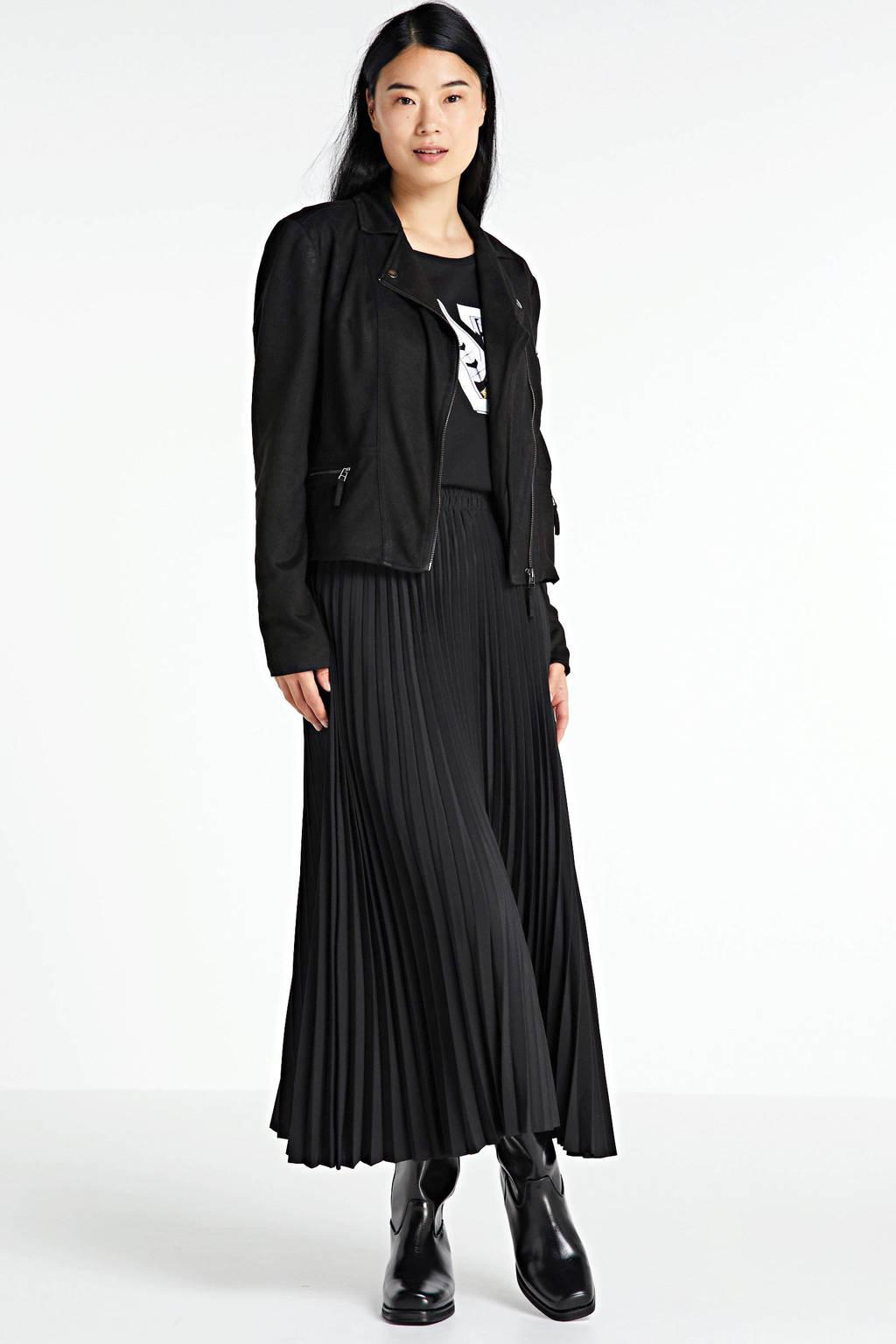 FREEQUENT zomerjas zwart, Zwart
