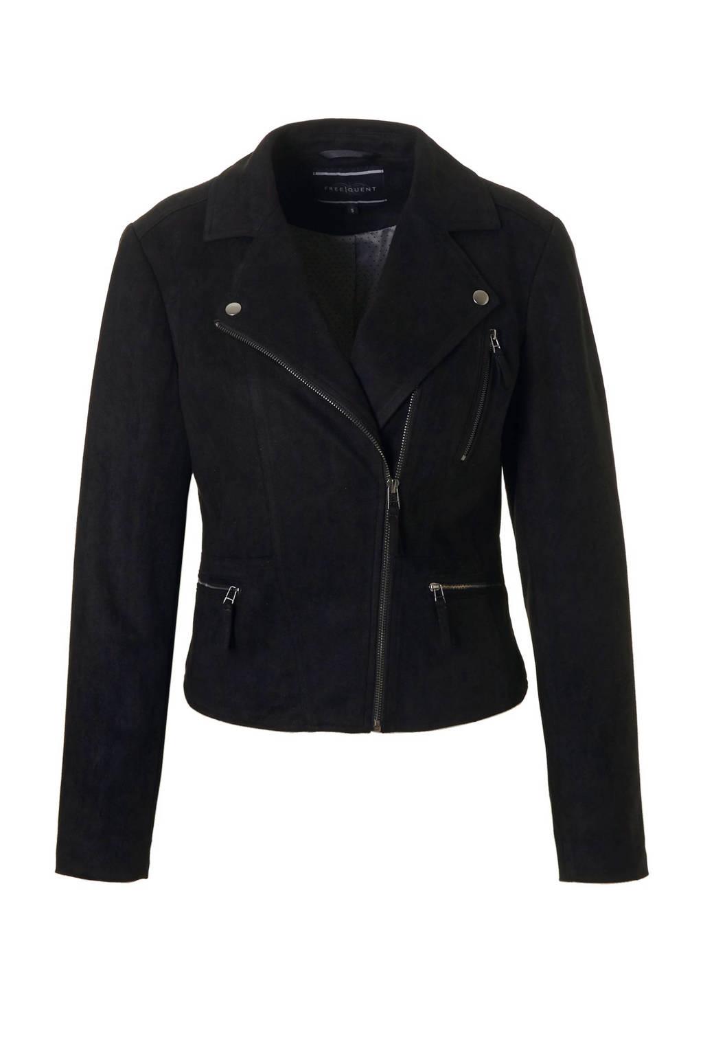 FREEQUENT Birdie jas, Zwart