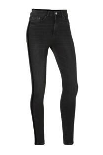Pieces skinny jeans met zijstrepen (dames)
