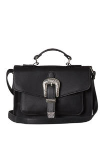 Pieces  crossbody tas met gesp detail