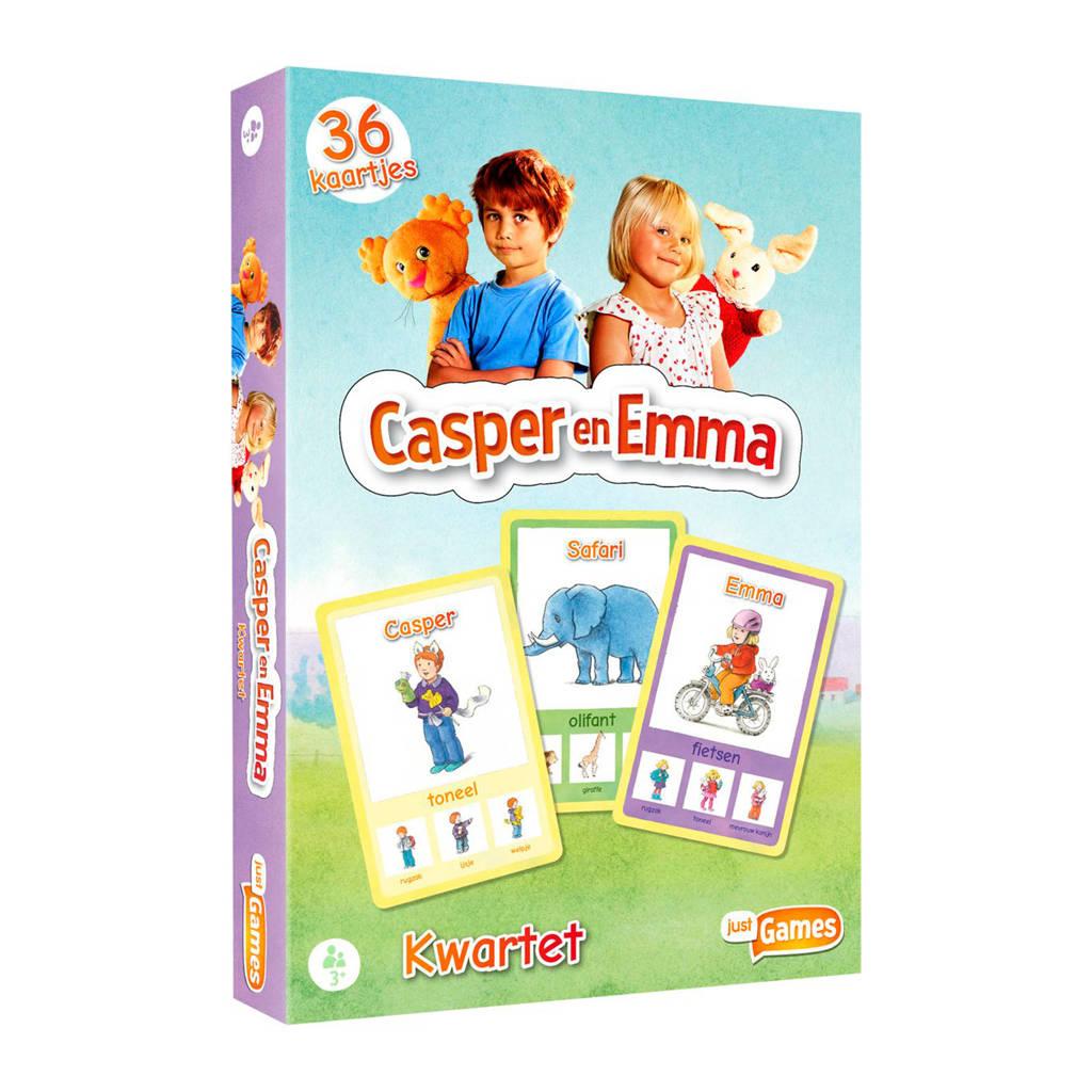 Just Games Casper en Emma kwartet kinderspel