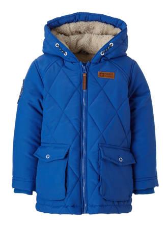 Lo winterjas Kas blauw