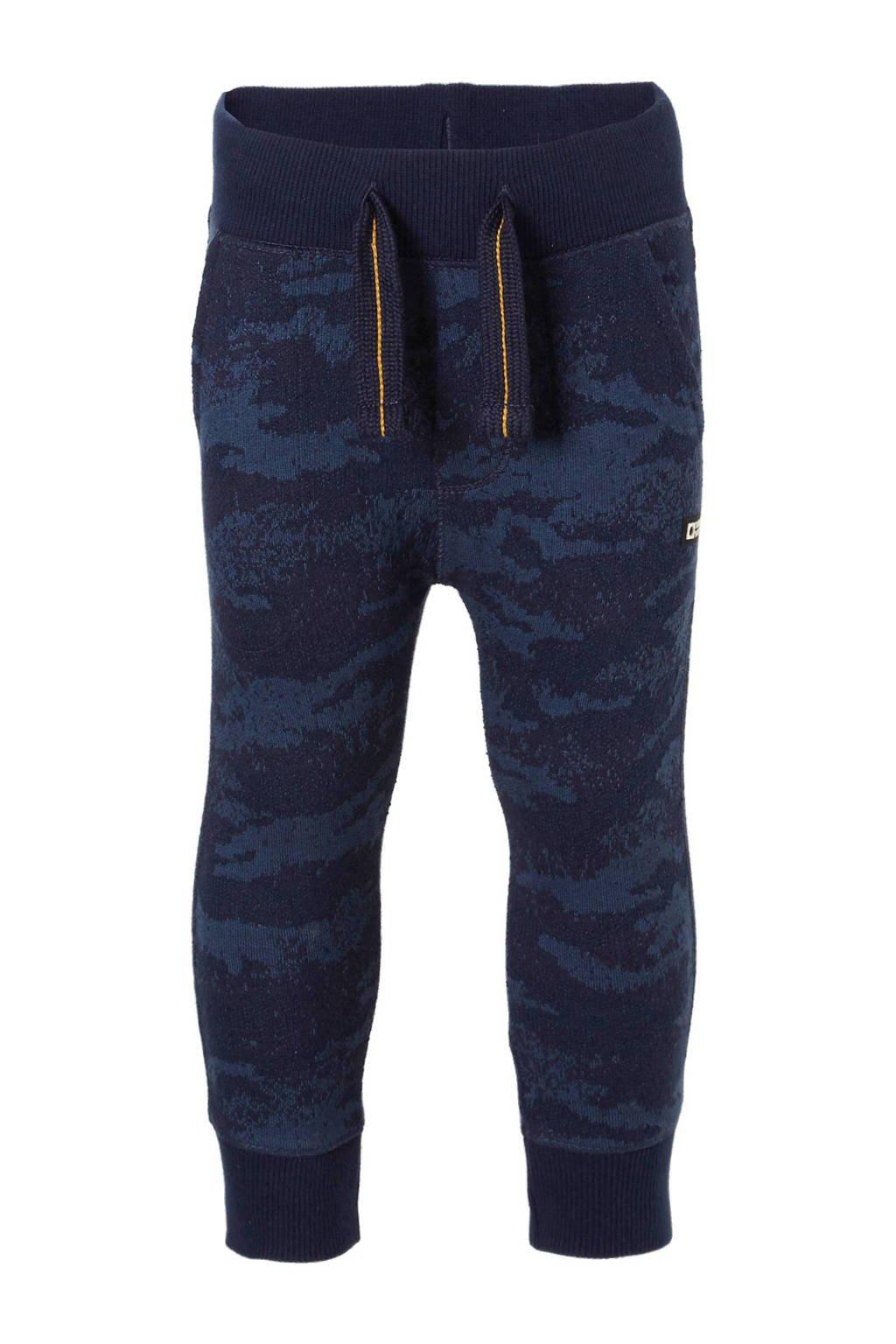Tumble 'n Dry Lo   sweatpants Konrad donkerblauw, 100% katoen