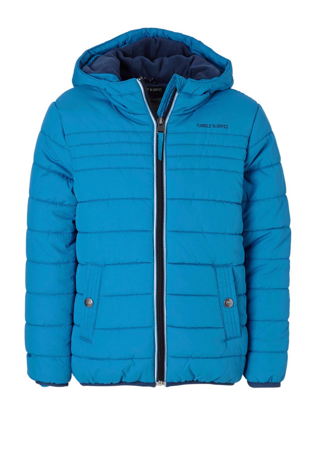 Tumble 'n Dry Mid winterjas Oak blauw, Blauw