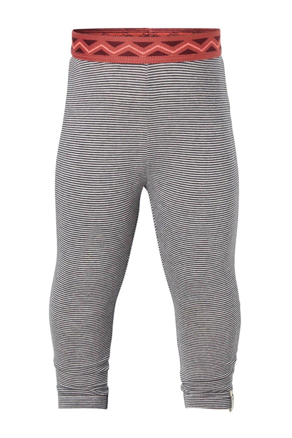 Tumble 'n Dry Lo gestreepte legging, Wit/zwart/roze