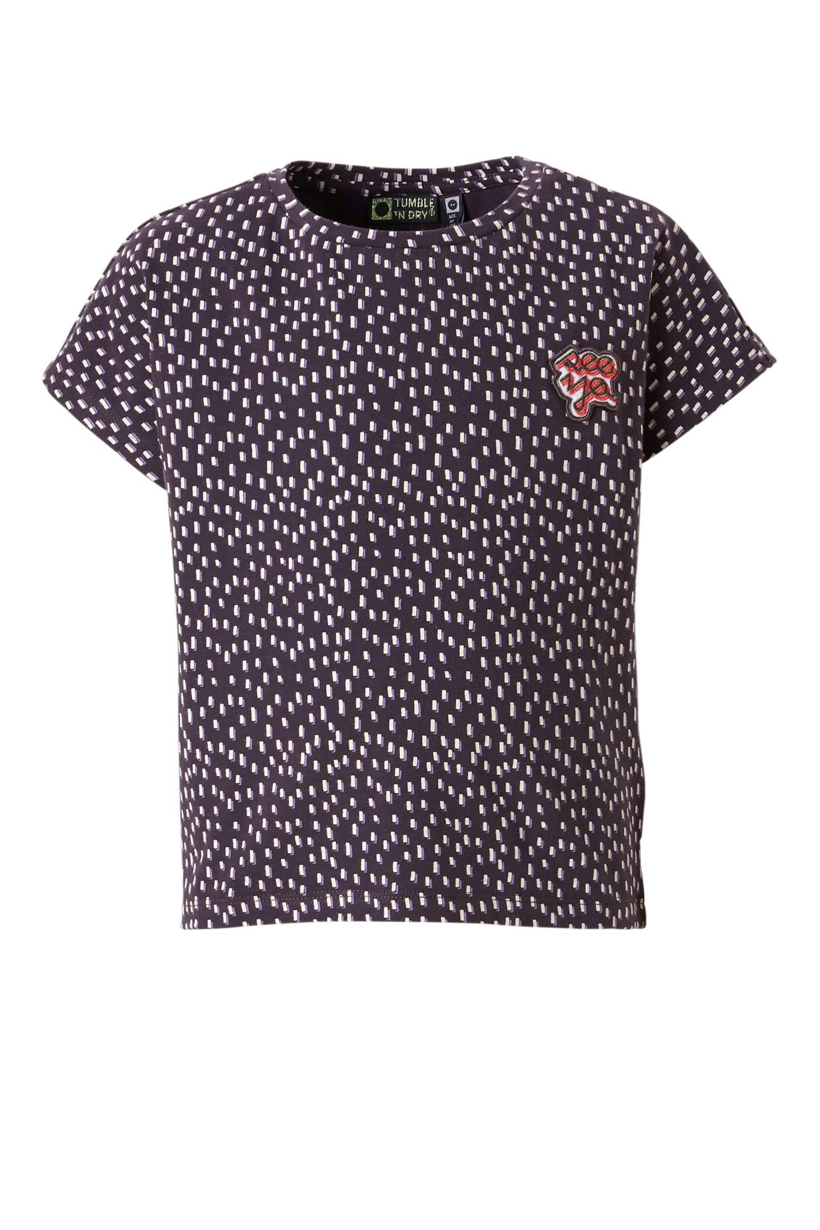 Tumble 'n Dry Mid T-shirt Veri donkergrijs