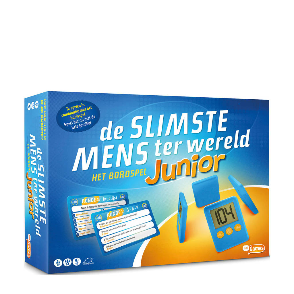 Just Games De slimste mens ter wereld junior kinderspel