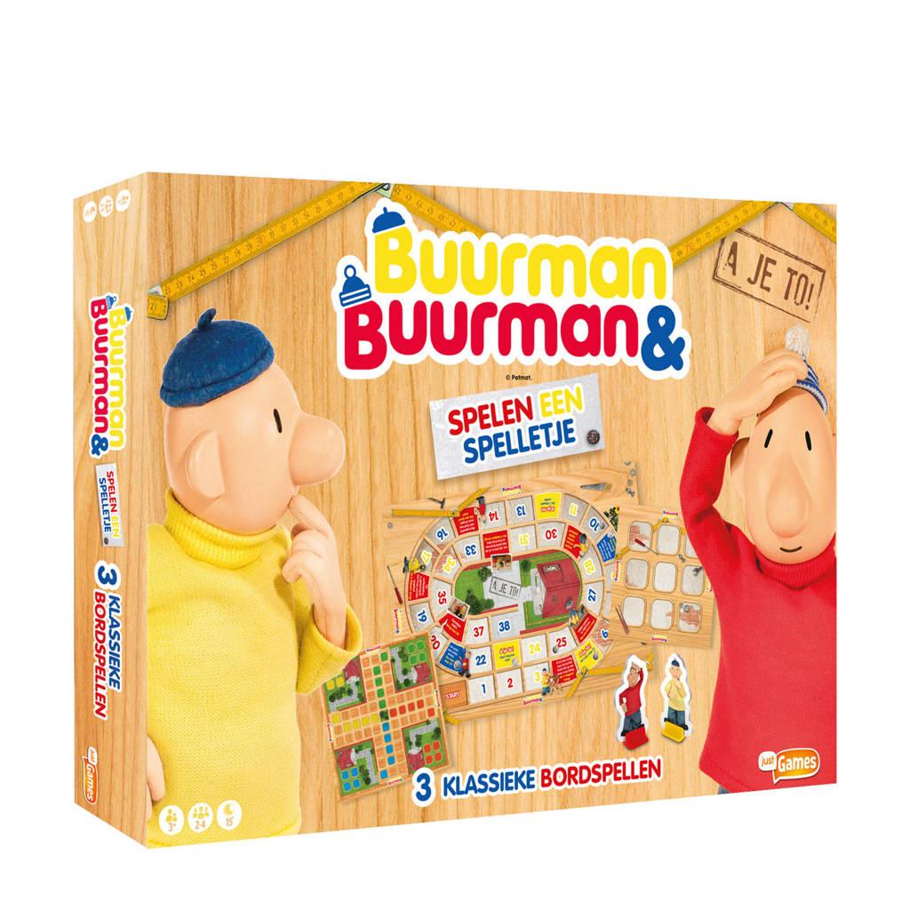 Just Games Buurman en Buurman 3-in-1 spel kinderspel