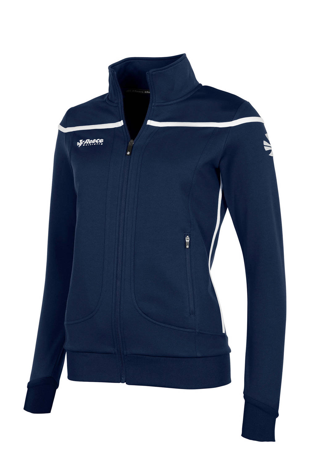 Reece Australia sportvest donkerblauw, Donkerblauw/wit