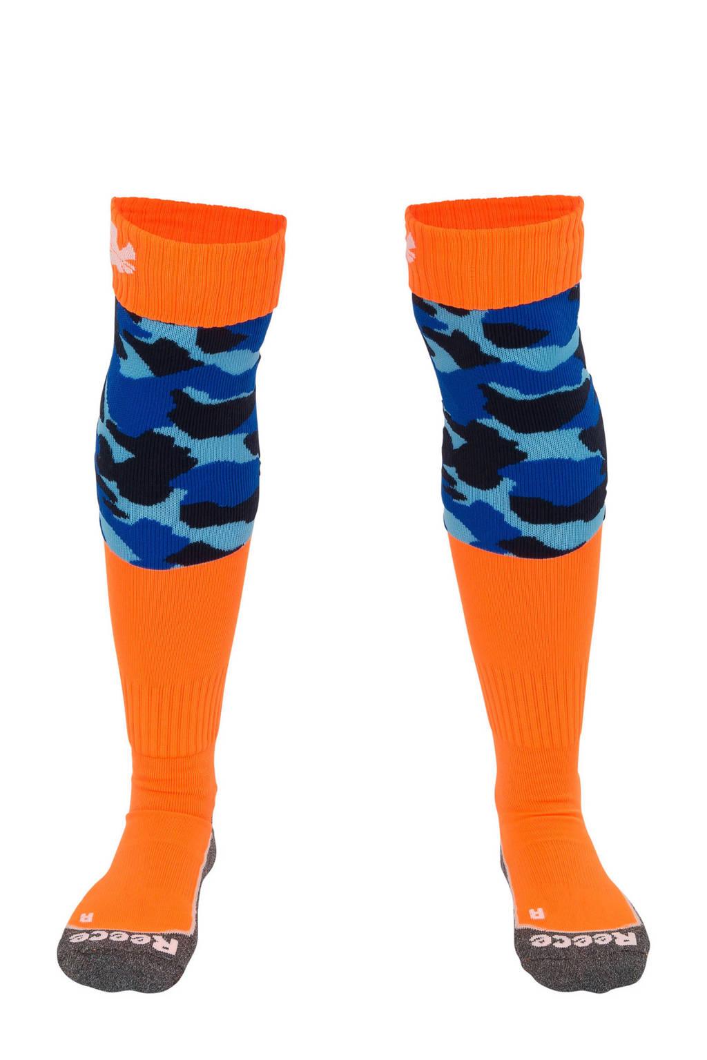 Reece Australia   hockeysokken, Oranje/lichtblauw/blauw/zwart