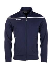 Reece Australia   Varsity Streched Fit Jacket FZ donkerblauw/wit, Donkerblauw/wit