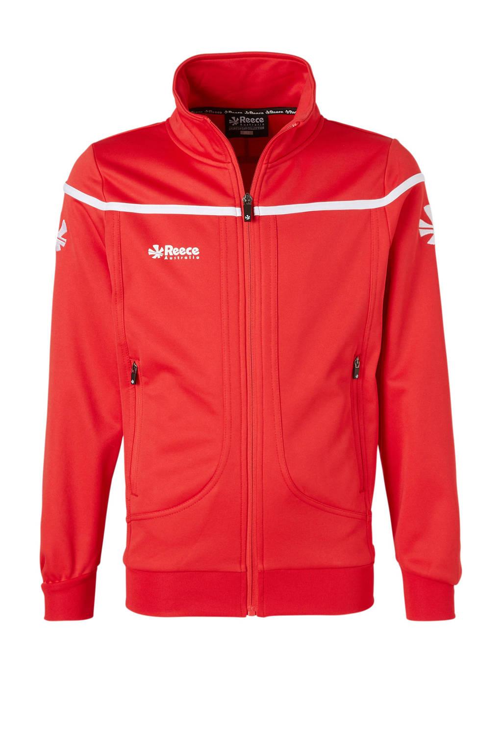Reece Australia   sportvest rood, Rood/wit, Jongens/meisjes