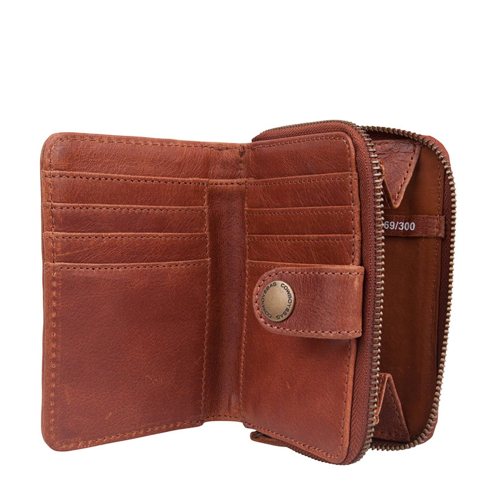 edb66d641cd Cowboysbag leren portemonnee Purse Haxby | wehkamp