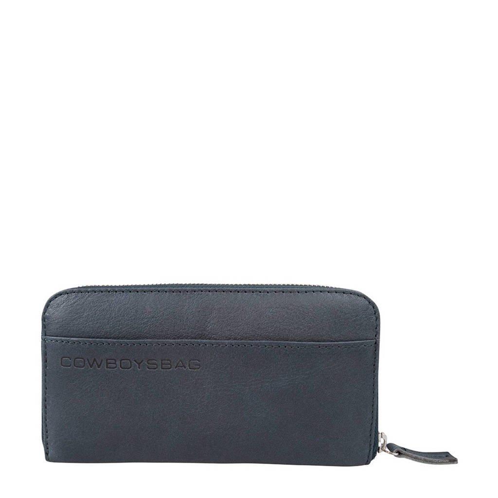Cowboysbag leren portemonnee The Purse, 950 - Petrol