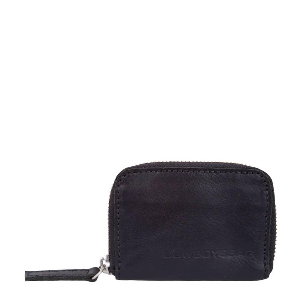 Cowboysbag leren portemonnee Purse Holt, 100 - Black