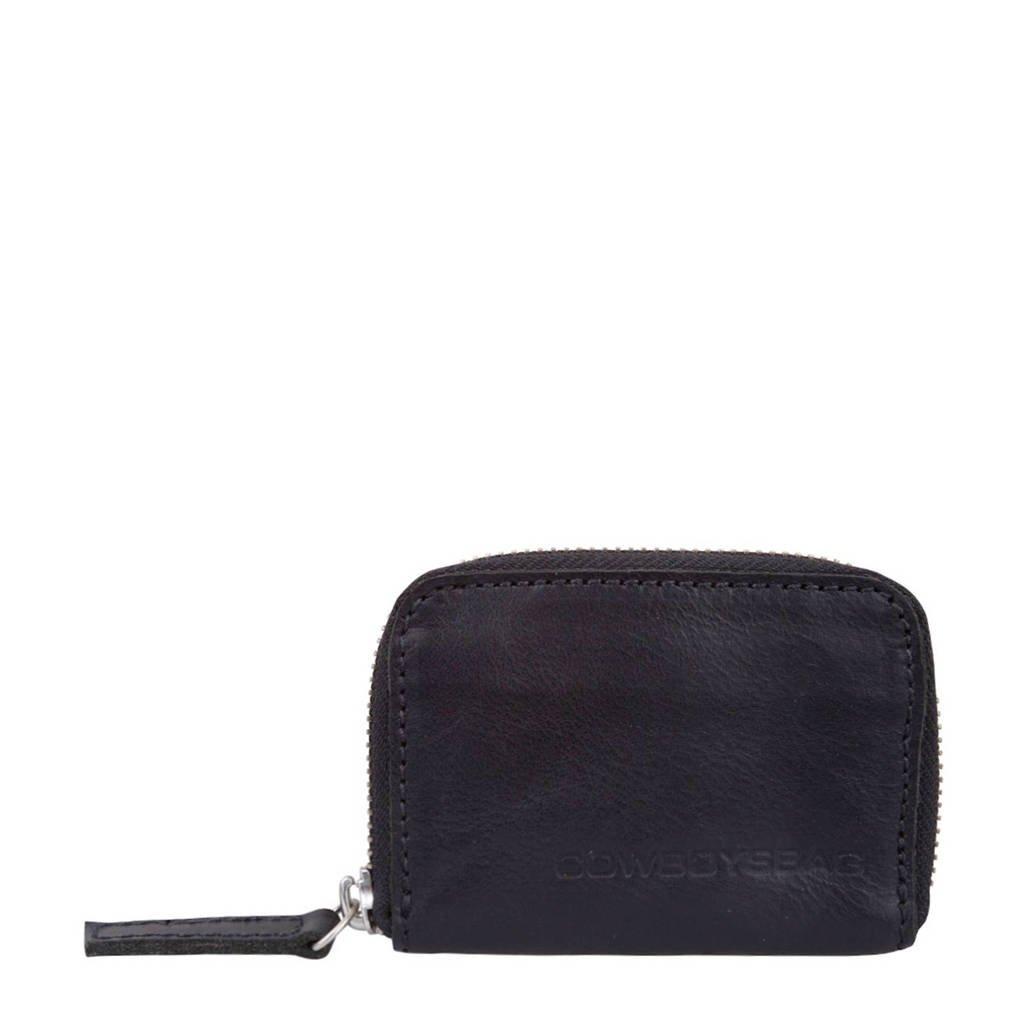 Cowboysbag leren portemonnee Purse Holt zwart, 100 - Black