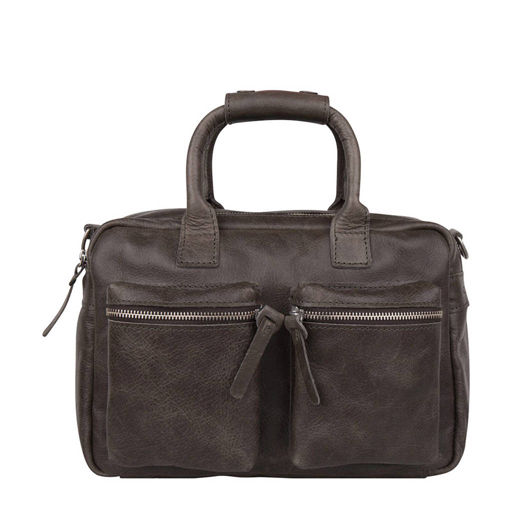 Cowboysbag   leren handtas The Little Bag, 142 - Storm Grey