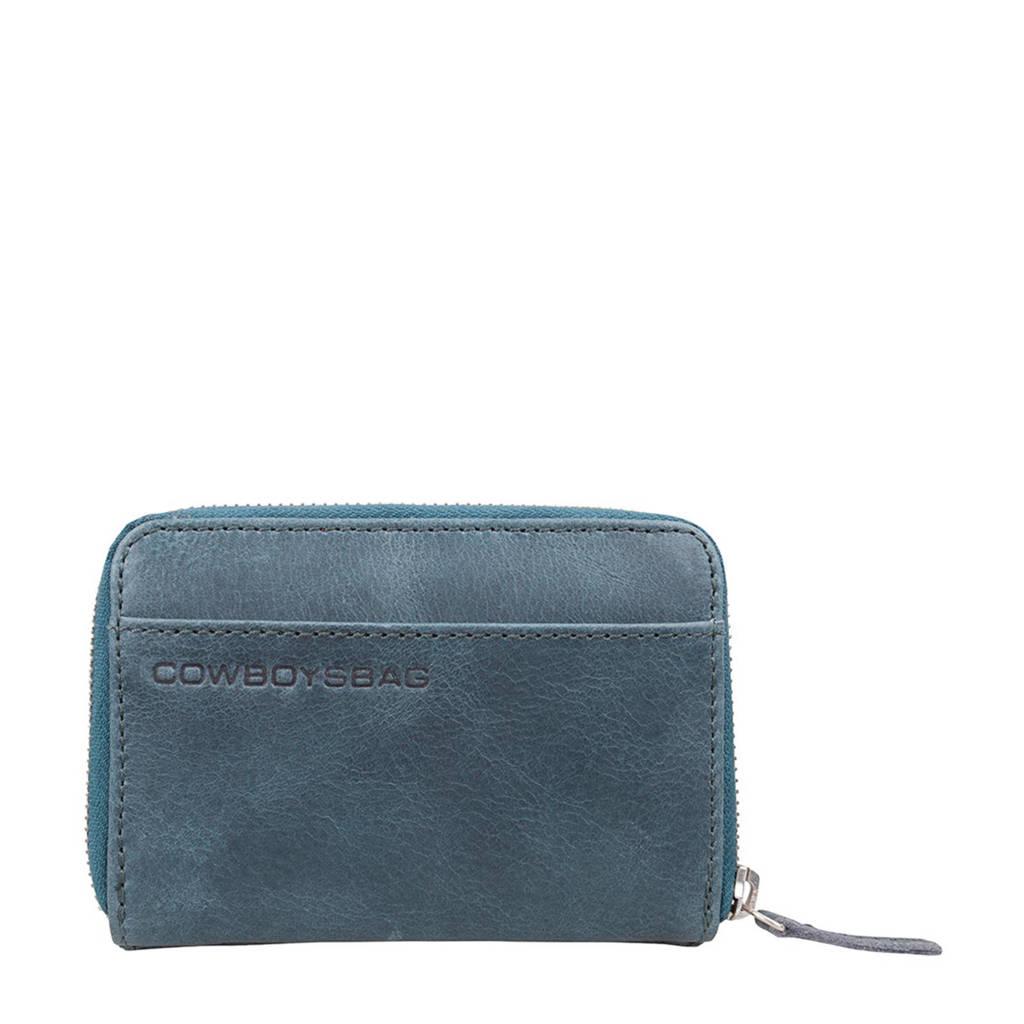 Cowboysbag leren portemonnee Purse Haxby, 950 - Petrol