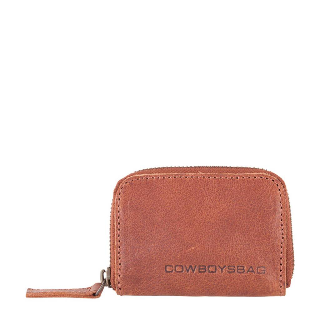Cowboysbag leren portemonnee Purse Holt, 300 - Cognac