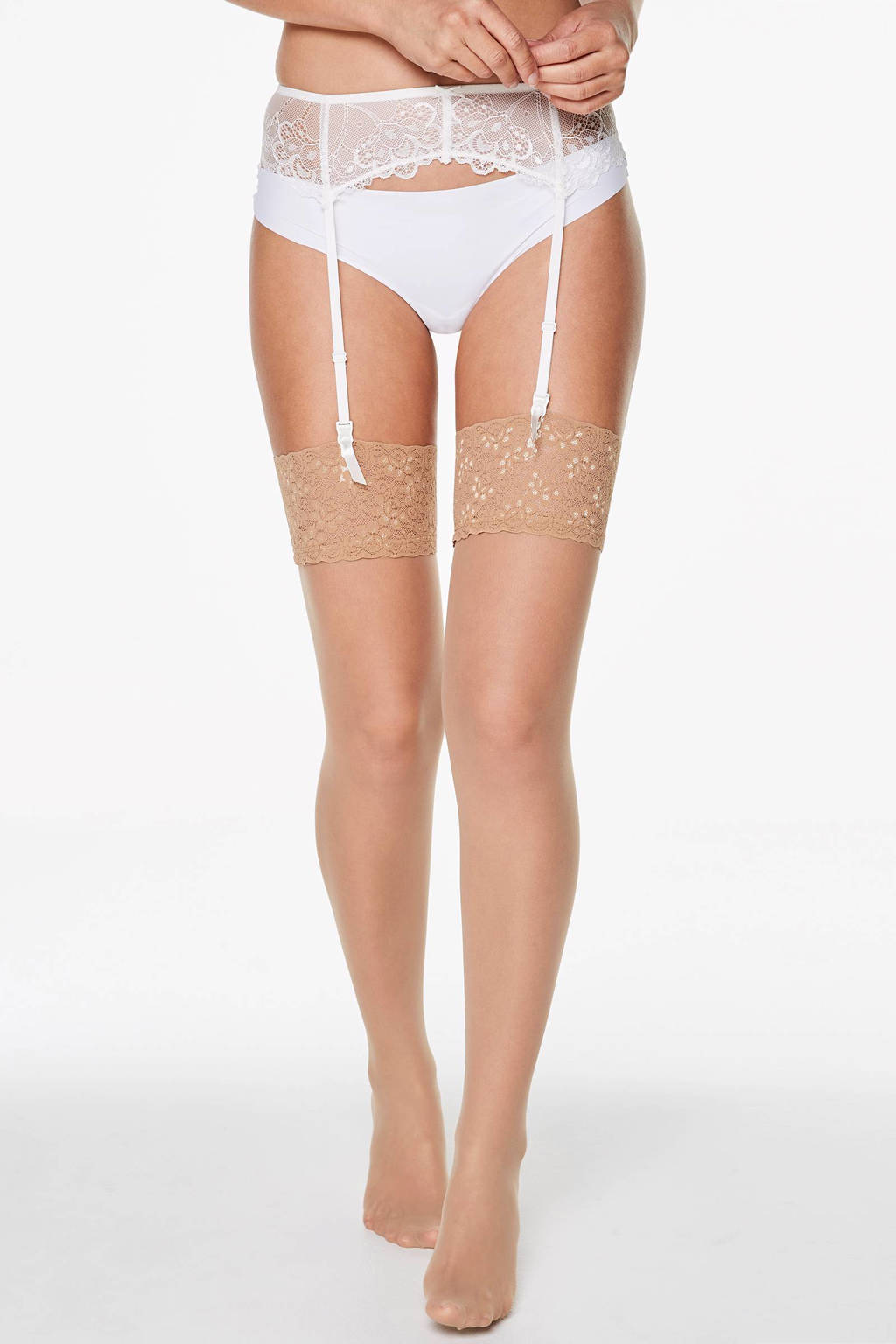 Core collection other hold up panty kousen 15 Denier, Beige