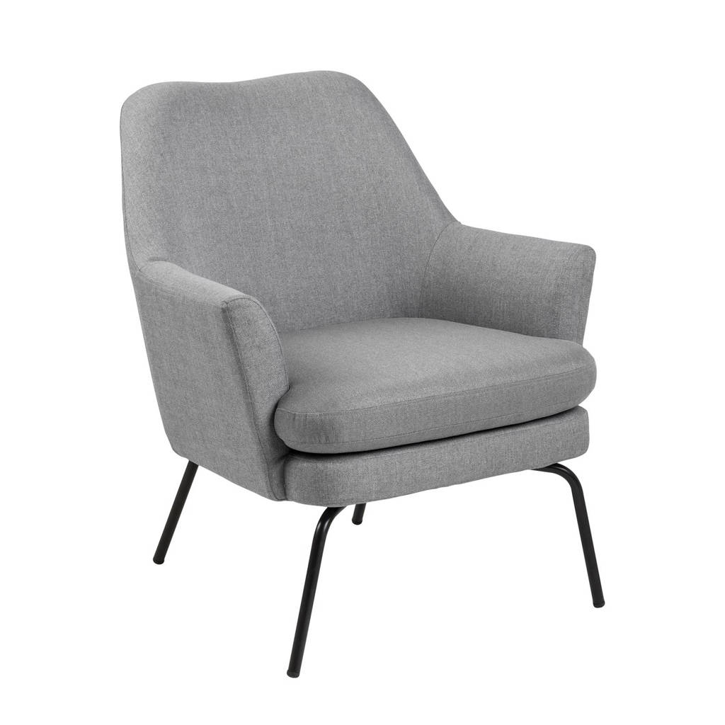 anytime fauteuil Romy, Lichtgrijs
