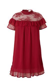 Plus jurk met kant