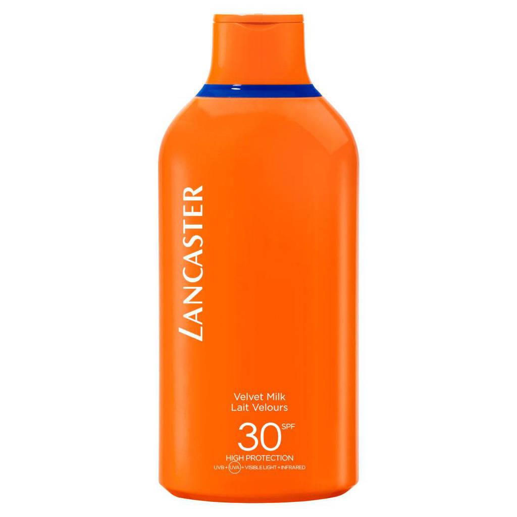 Lancaster Sun Beauty Velvet Milk SPF30 - 400 ml, Zonnefactor SPF 30