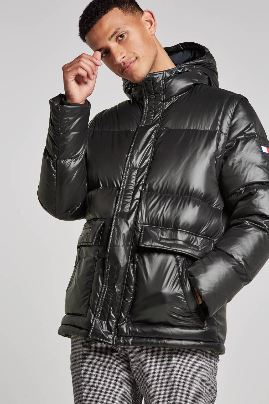 Tommy Hilfiger jas, Zwart