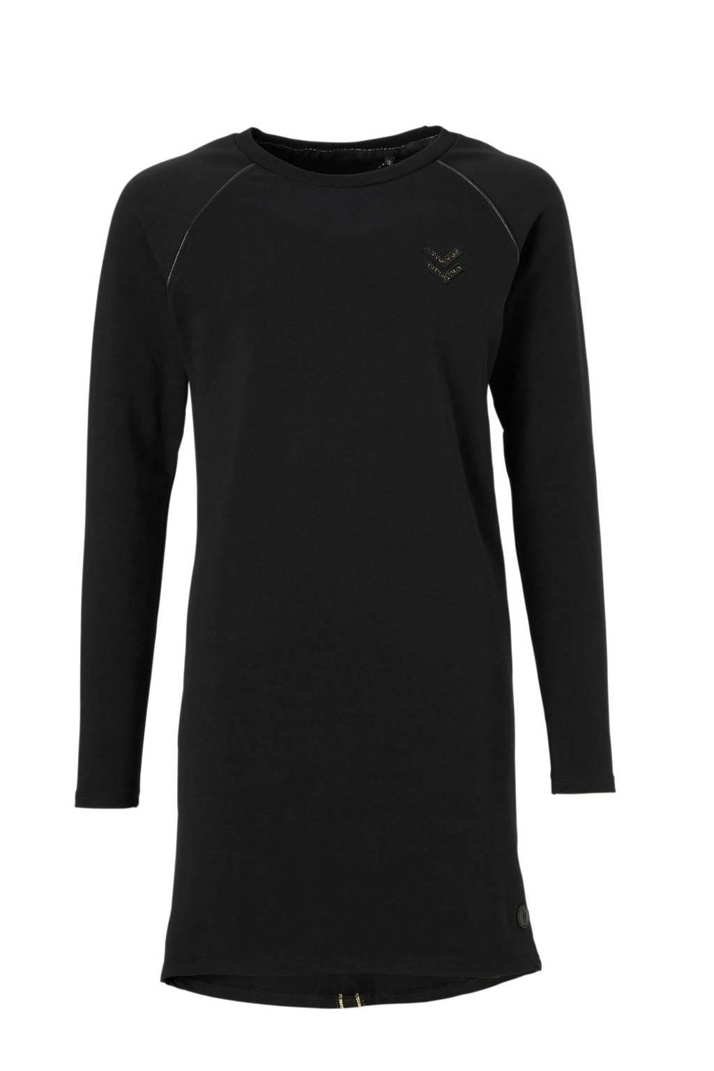 LEVV jurk Amelie zwart, Zwart