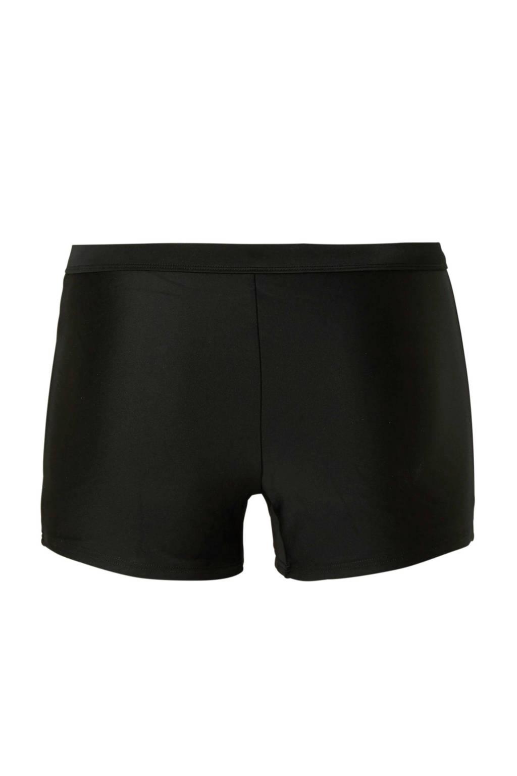 whkmp's beachwave hipster bikinibroekje zwart, Zwart