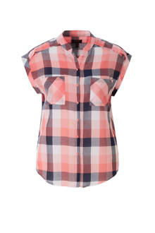 blouse met ruit dessin