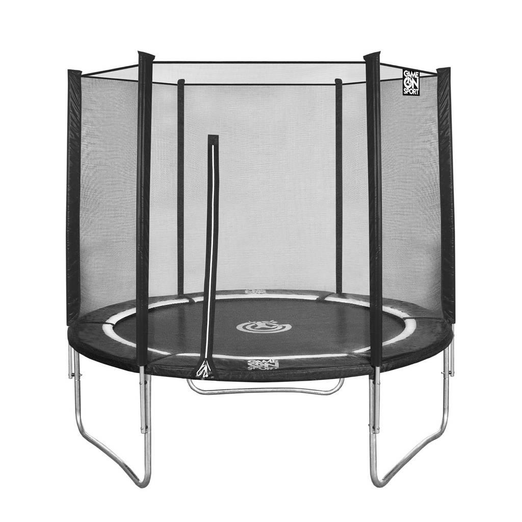 Game on sport Jumpline trampoline Ø244 cm, Zwart