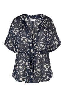 semi transparante kimono