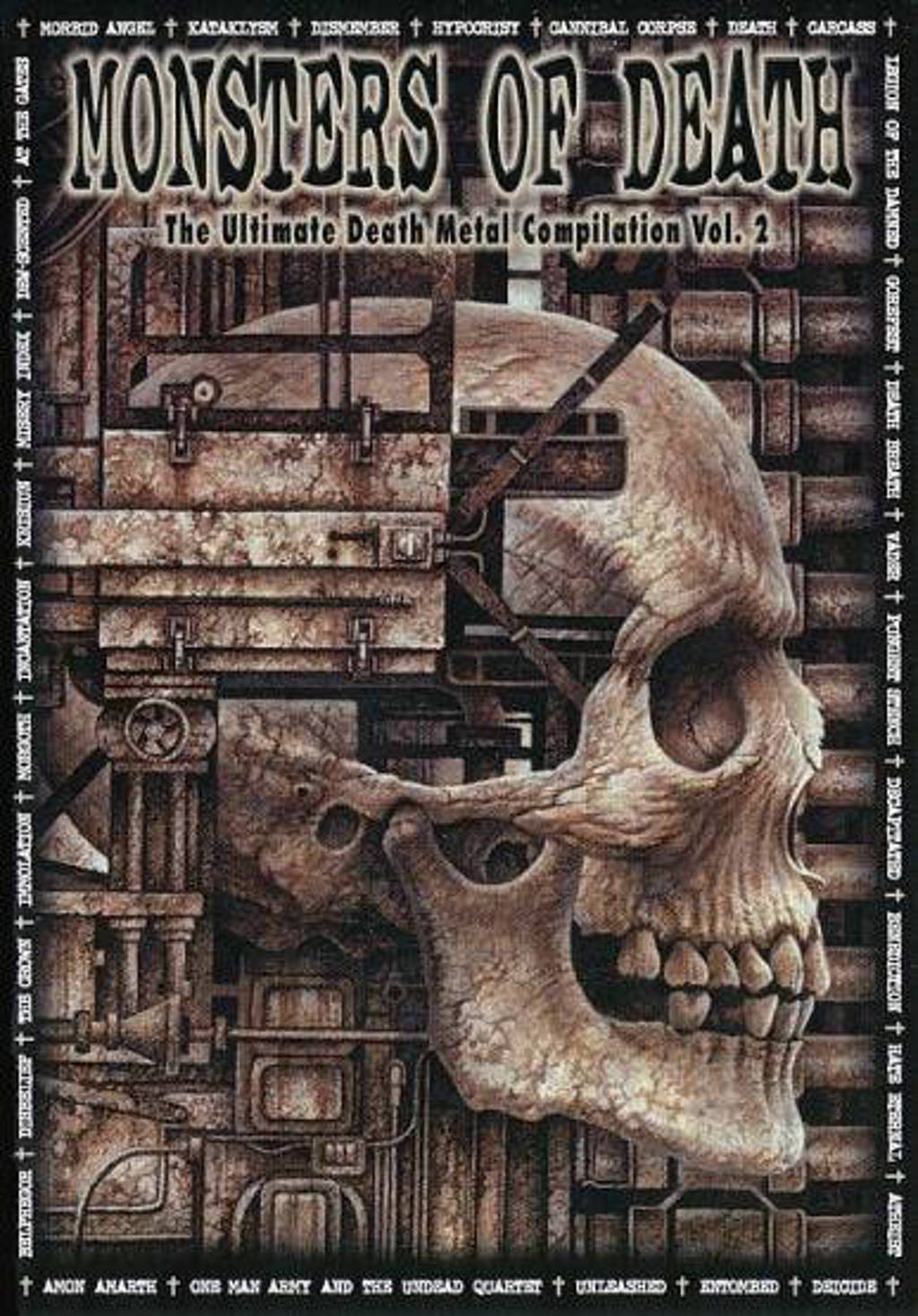 Various - Monsters Of Death (DVD)