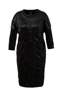 Adia fluwelen jurk