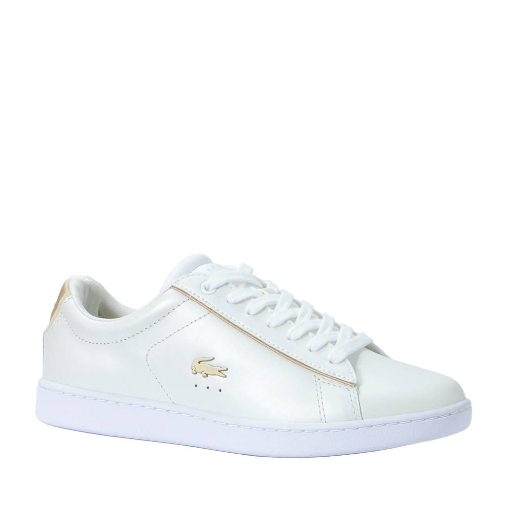 Lacoste  sneakers Carnaby Evo, Wit/goud