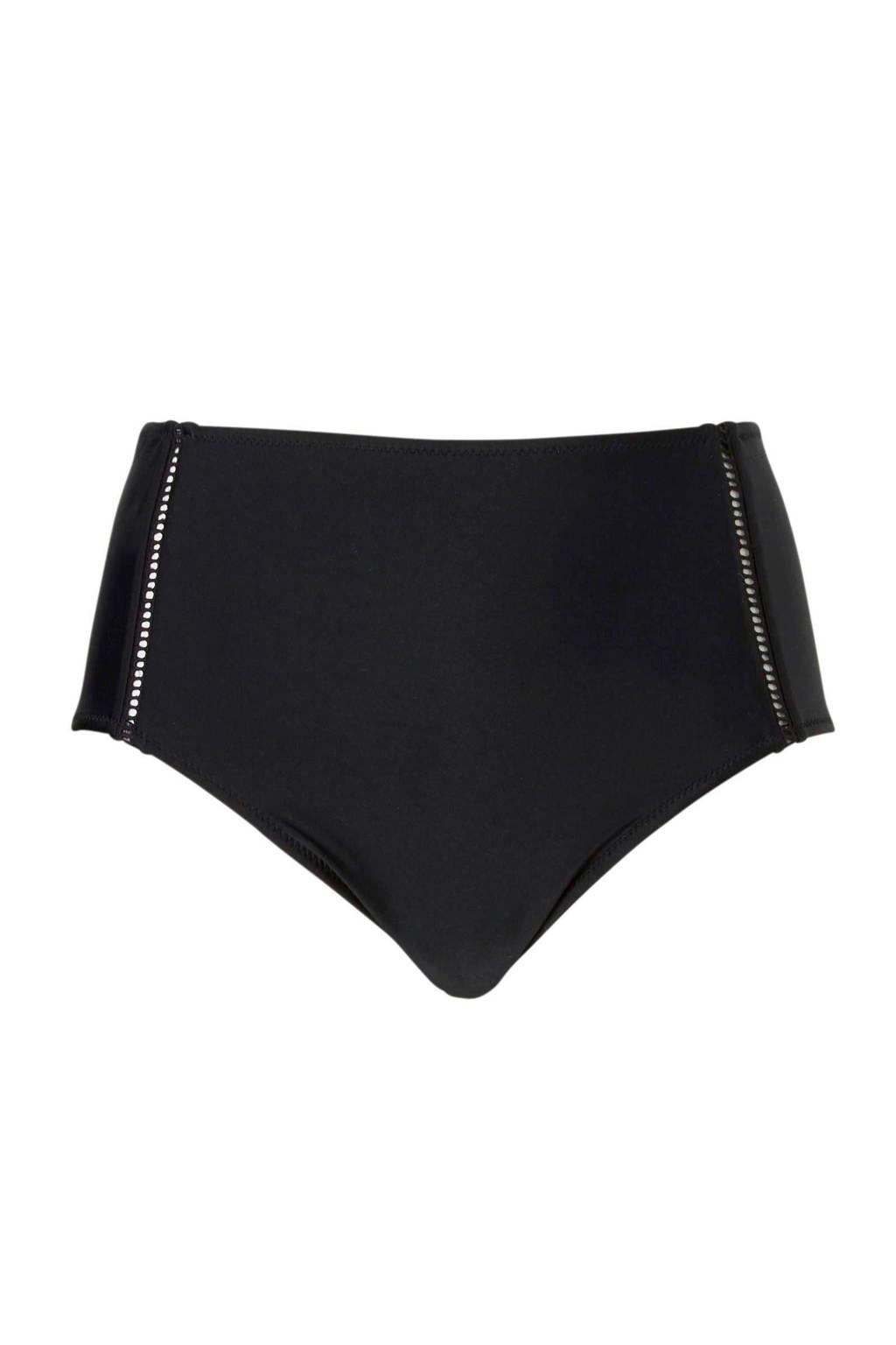 whkmp's beachwave Mix & Match corrigerend broekje high waist zwart, Zwart
