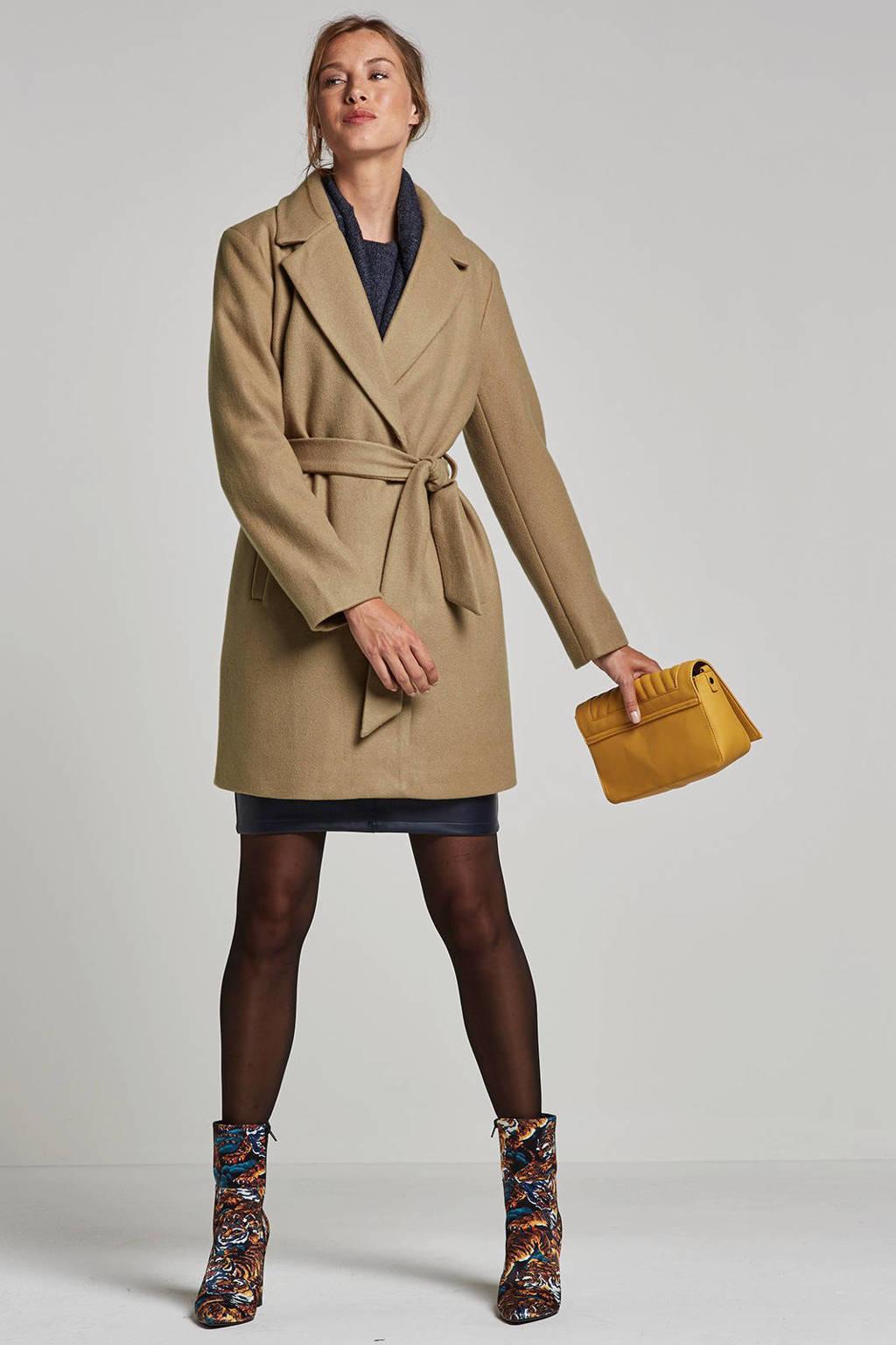 VILA coat, Camel