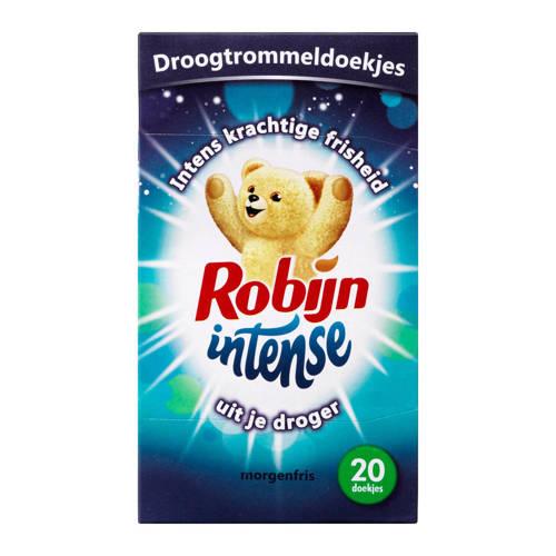 Robijn Intense droogtrommeldoekjes morgenfris - 20 stuks kopen