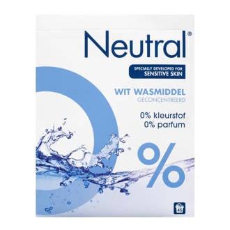 wasmiddel wit - 45 wasbeurten - poeder - parfumvrij