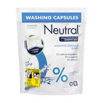 Neutral parfumvrij wascapsules wit 10 wasbeurten