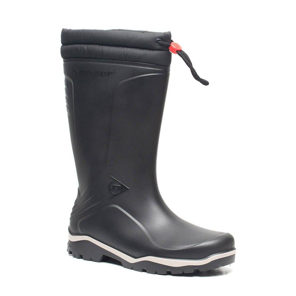 Dunlop Blizzard Thermo  regenlaarzen zwart, Zwart