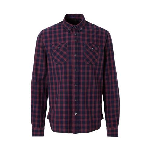 Twinlife regular fit overhemd