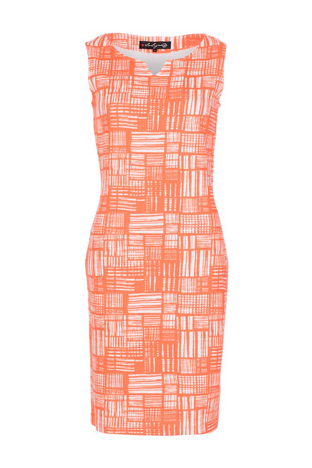 La Ligna jurk koraalrood, Koraal