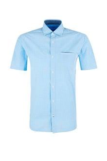geruit overhemd lichtblauw