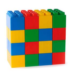 bouwblokken XXL 24-delig