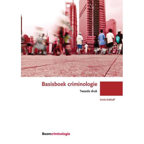 Basisboek criminologie. Emile Kolthoff, Paperback