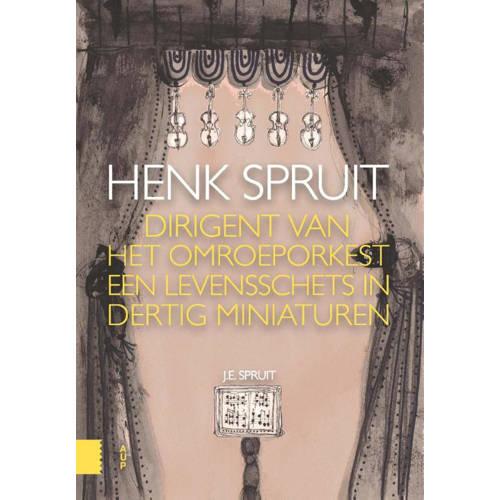 Henk Spruit, dirigent van het Omroeporkest. een levensschets in dertig miniaturen, Spruit, Jop, Pape