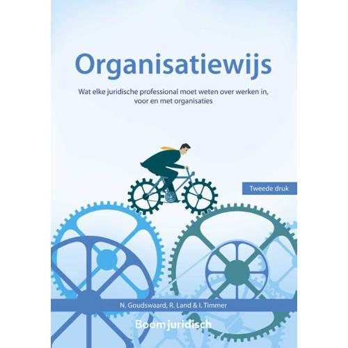 Organisatiewijs. wat elke juridische professional moet weten over werken in, voor en met organisatie